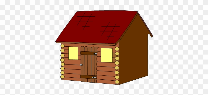 Free Stick House Clipart Three Little Pigs - House #777004
