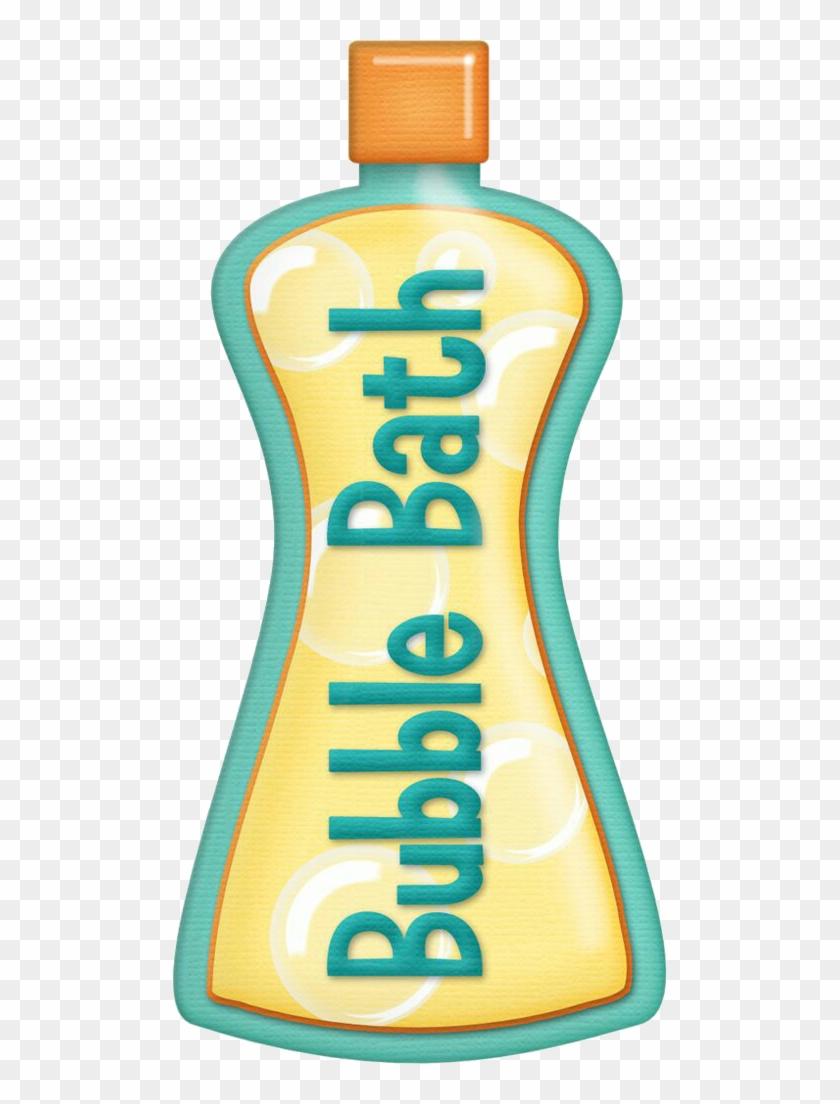 Bubble Bath Bathtub Bathing Clip Art - Bubble Bath Bottle Clipart #778041