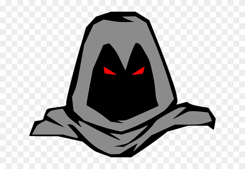 Dark Eyes, People, Man, Bad, Guy, Person, Cartoon, - Cartoon Man In Hood #778894