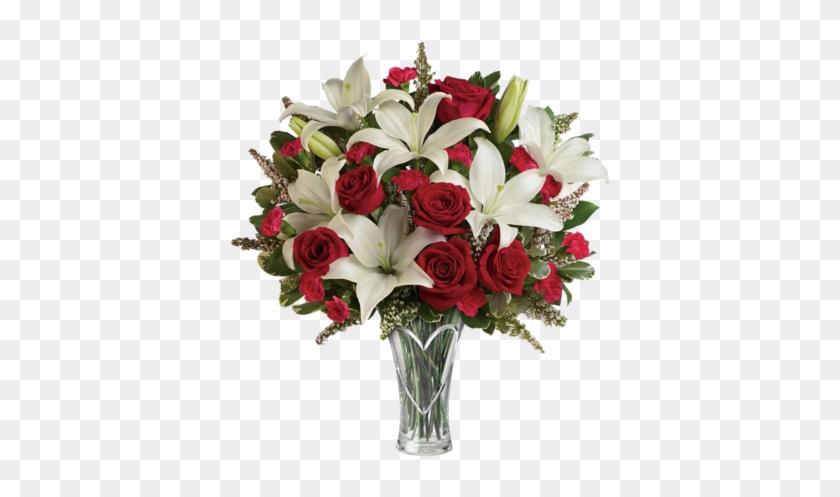 Artificial Calla Lilies Teardrop Wedding Bouquet Red Rose 2017