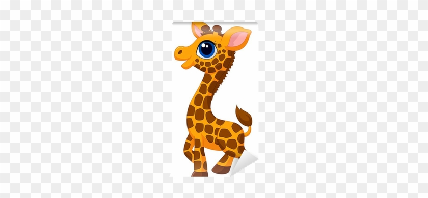 Cute Baby Giraffe Cartoon #779362