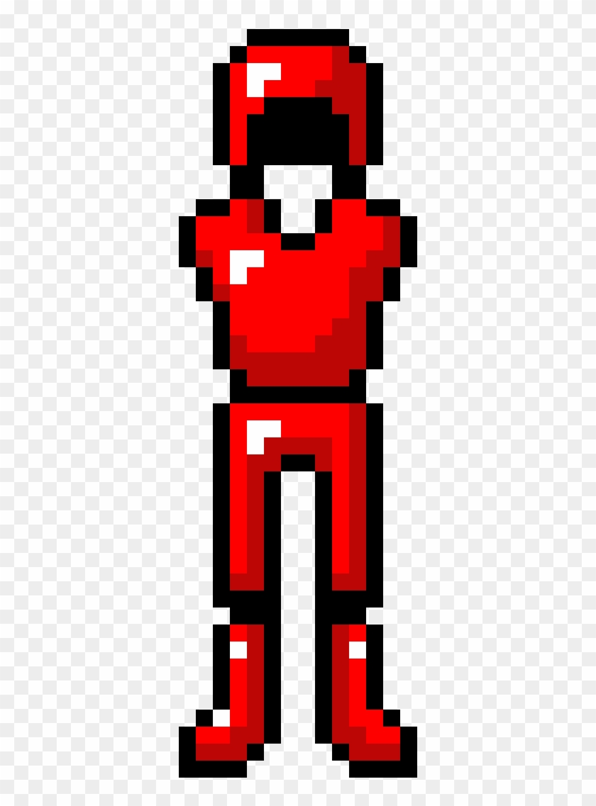 Red Ruby Armor Pixel Art Minecraft Armor Free Transparent Png Clipart Images Download