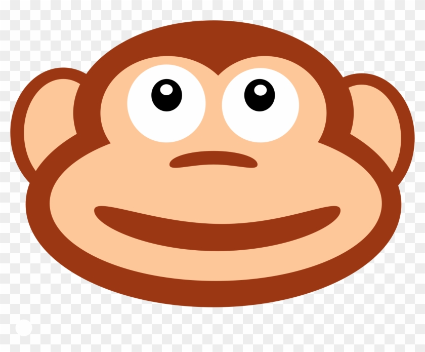 Chimpanzee Orangutan Monkey Smile Clip Art - Chimpanzee Orangutan Monkey Smile Clip Art #780526