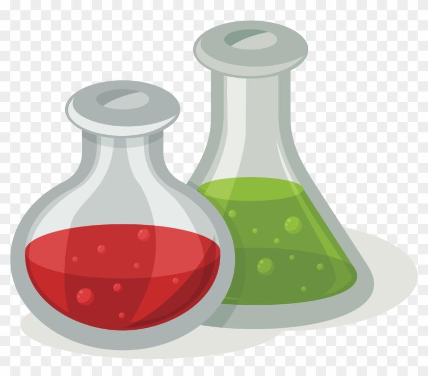 Big Image - Clipart Chemistry Flask #780681