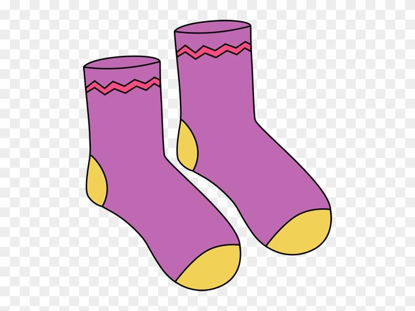 Purple Pair Of Socks - Purple Pair Of Socks #781116