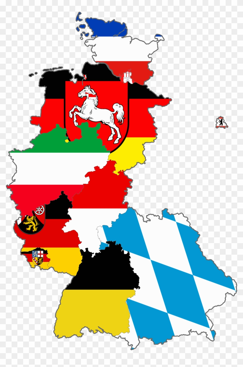 Cartoon Map Of Germany.Flag Map Of West Germany West Germany Flag Map Free Transparent