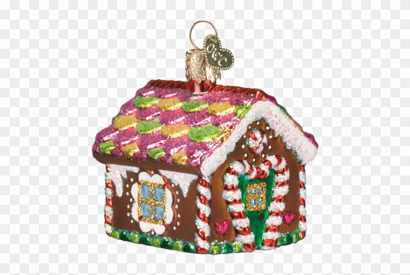 Gingerbread House Christmas Ornament - Old World Christmas Gingerbread House Ornament 2-1/2 #781466