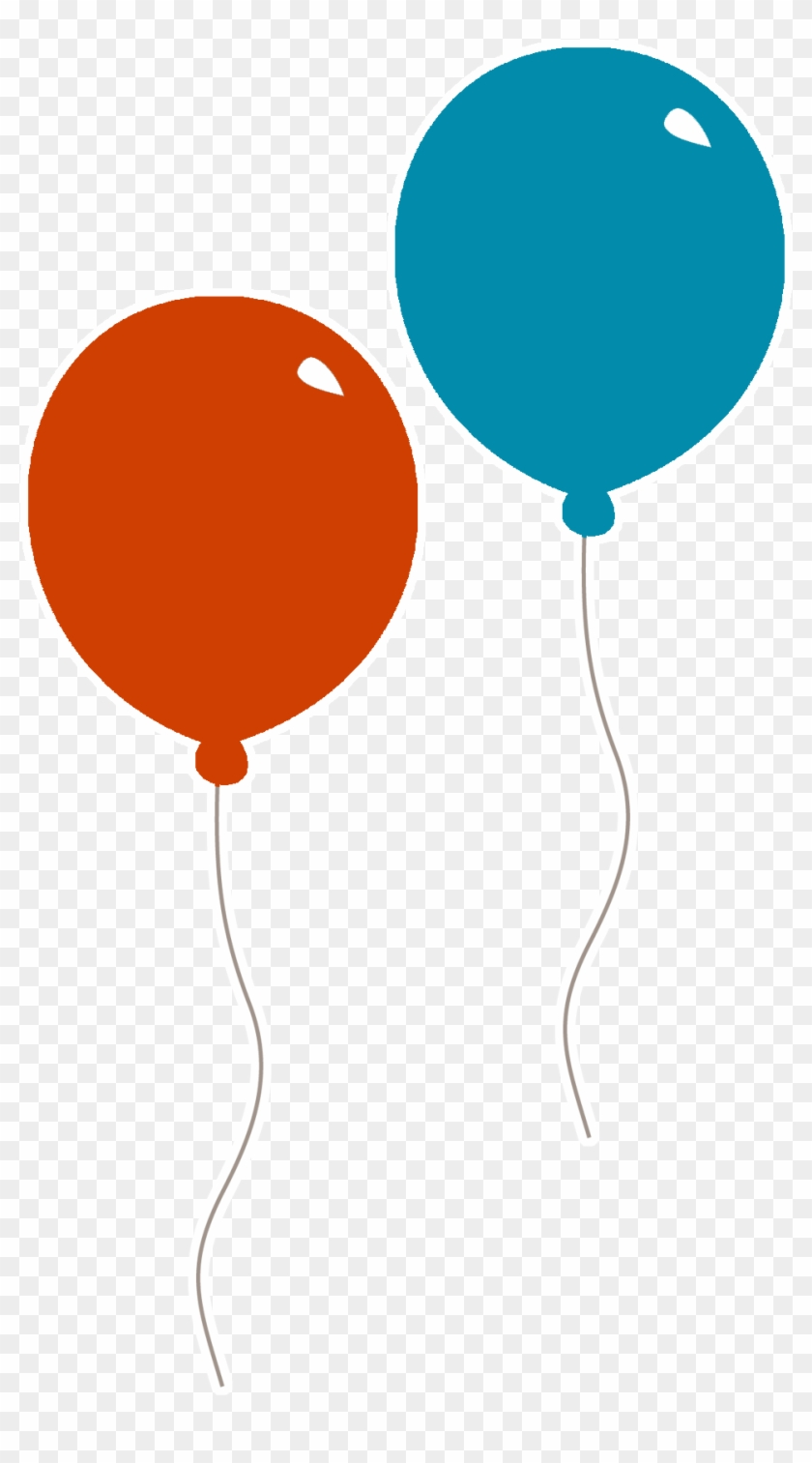Balloon Red Blue Clip Art Red And Blue Balloons Free Transparent Png Clipart Images Download