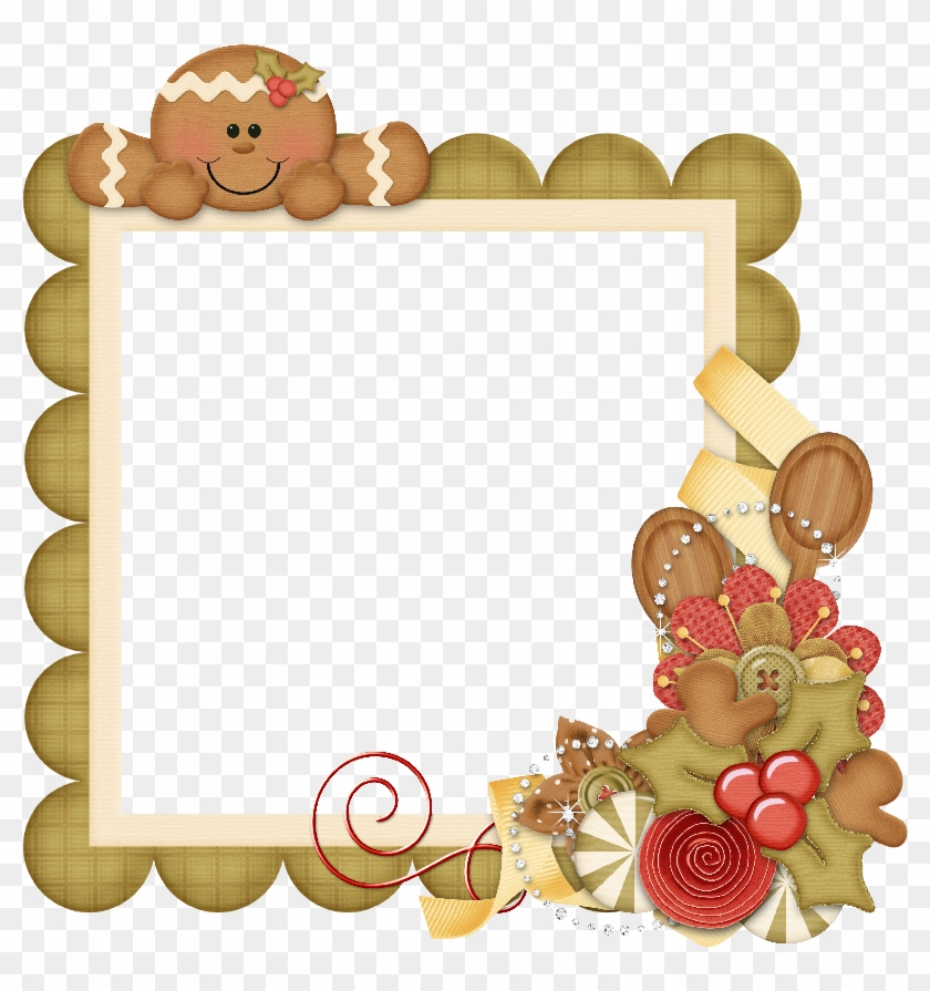 Gingerbread House Border Clipart Gingerbread Frames Free