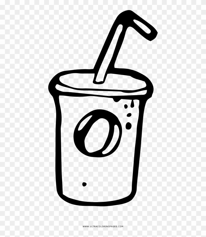 Milk Shake Coloring Page - Milkshake #781824