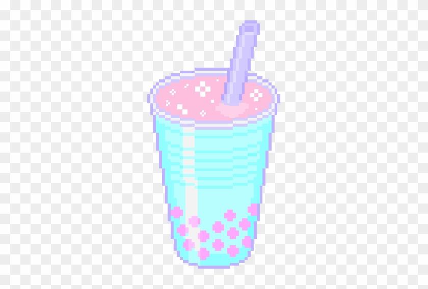 Milkshake Sticker - Pixel Png Milk Shake #781873
