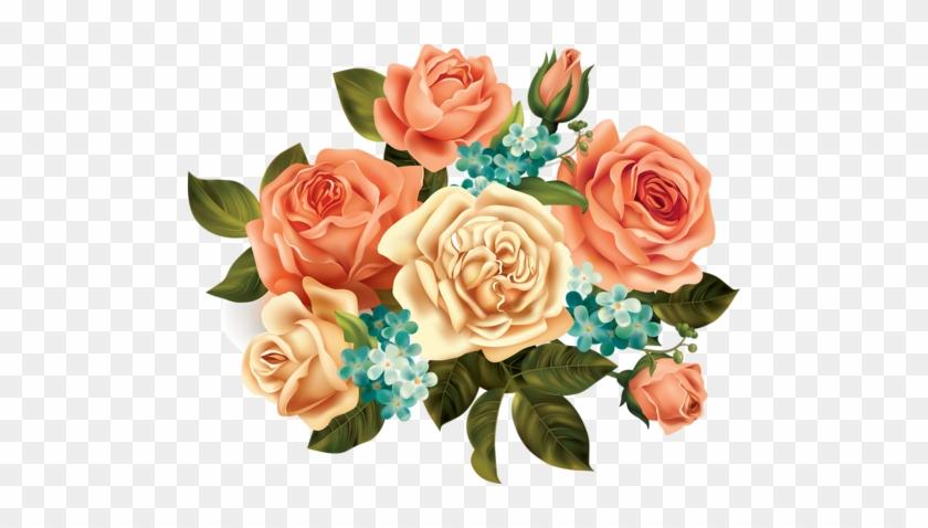 Soloveika Альбом «клипарт / Рамочки - Vintage Flower Art Png #782693