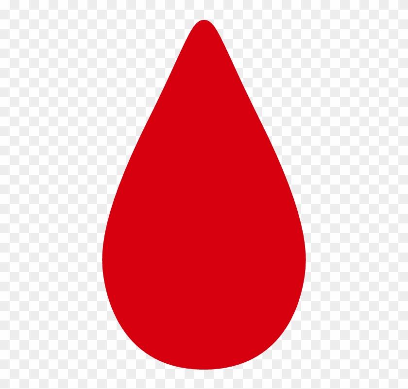 Blood Drop - Drop Of Blood Vector #782976