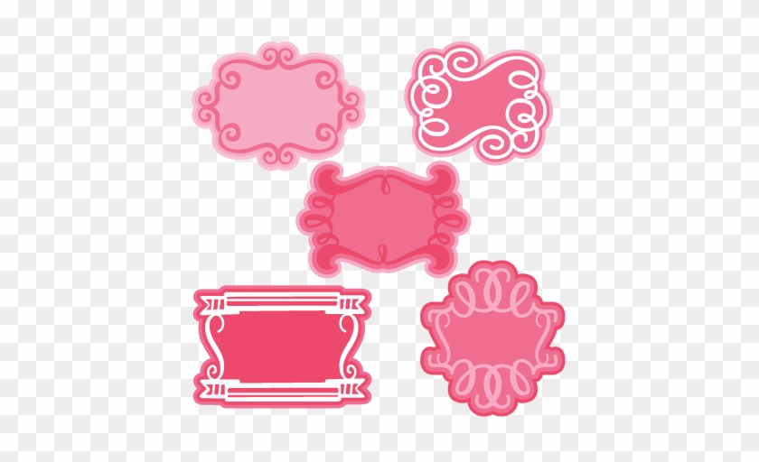 3bbaa6f6d96 Extraordinary Ideas Fancy Frame Clipart Frames Svg - Cute Pink Frame Png   783397