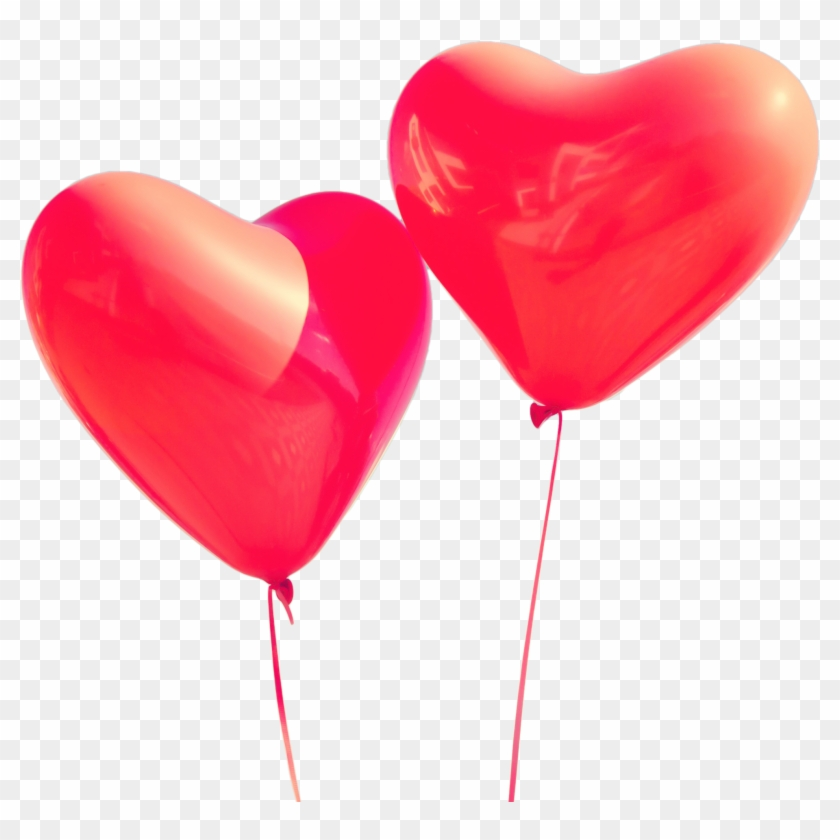 Valentines Day Png Image - Heart Shaped Helium Balloons #783571
