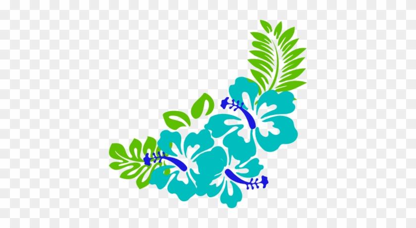 Luau Clip Art Borders Free Clipart Images 9 Wikiclipart - Clip Art Hawaiian Flowers #784045