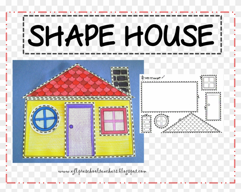 Faces Additionally Geometric Shapes House Shape Worksheet - Parts Of The  House For Preschool - Free Transparent PNG Clipart Images Download
