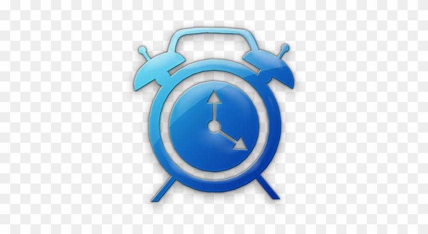 Alarm Clock Icon Blue #784998