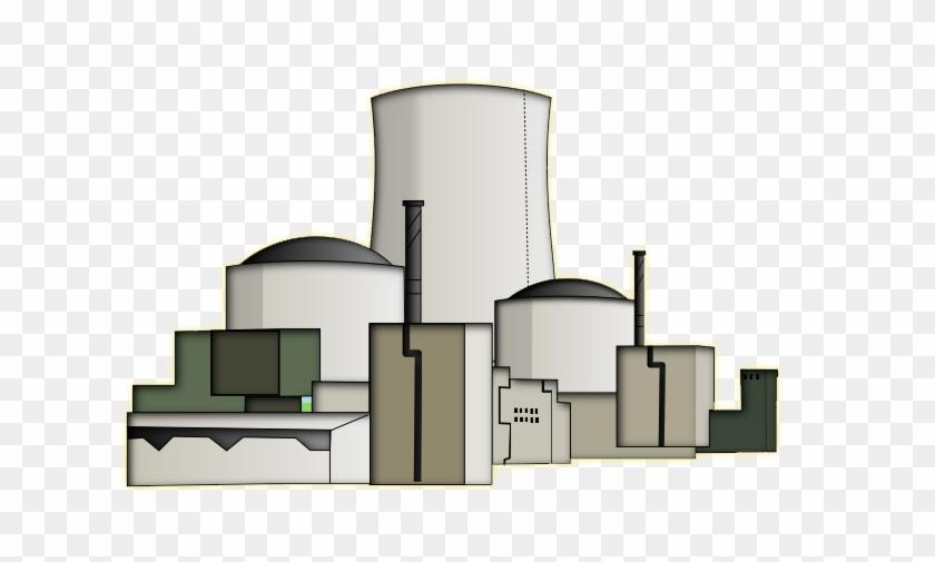 Church Building Clip Art Free - Nuclear Power Plant Clipart #784999