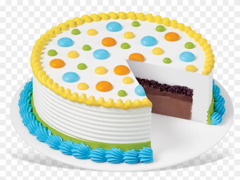 Dq® Round Cake Dq Cakes Menu Dairy Queen, Baby Shower - Dairy Queen Ice Cream Cake #785634