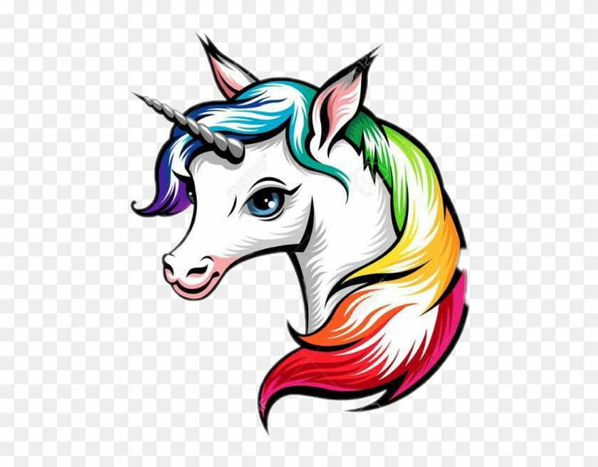 Unicorn Head Drawing #785934