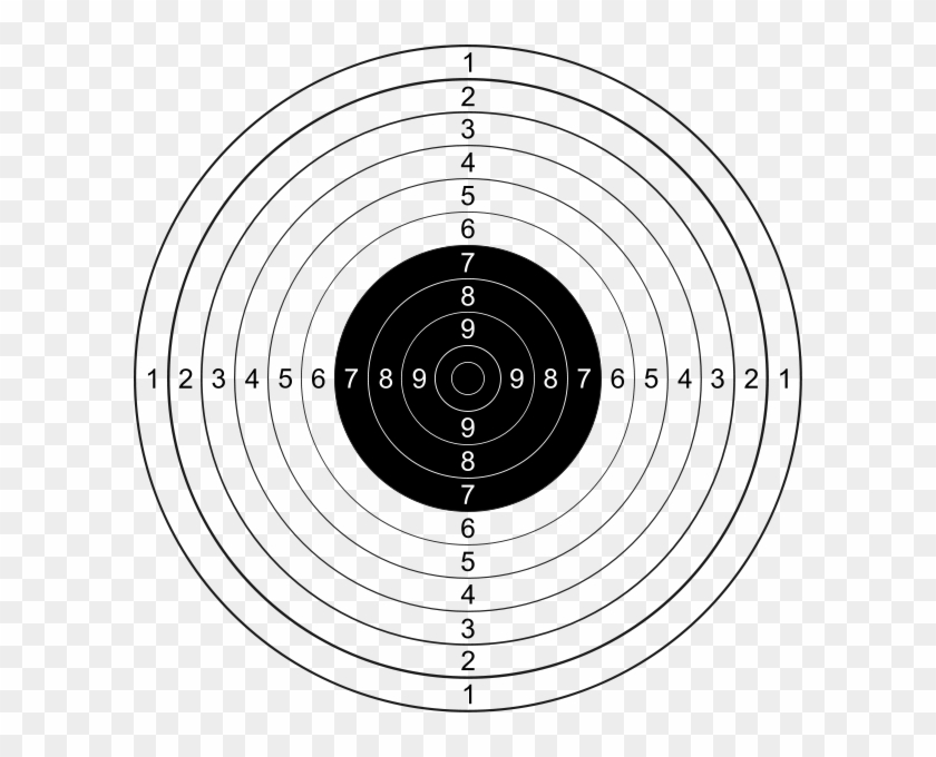Ios - Target For Pistol Shooting - Free Transparent PNG