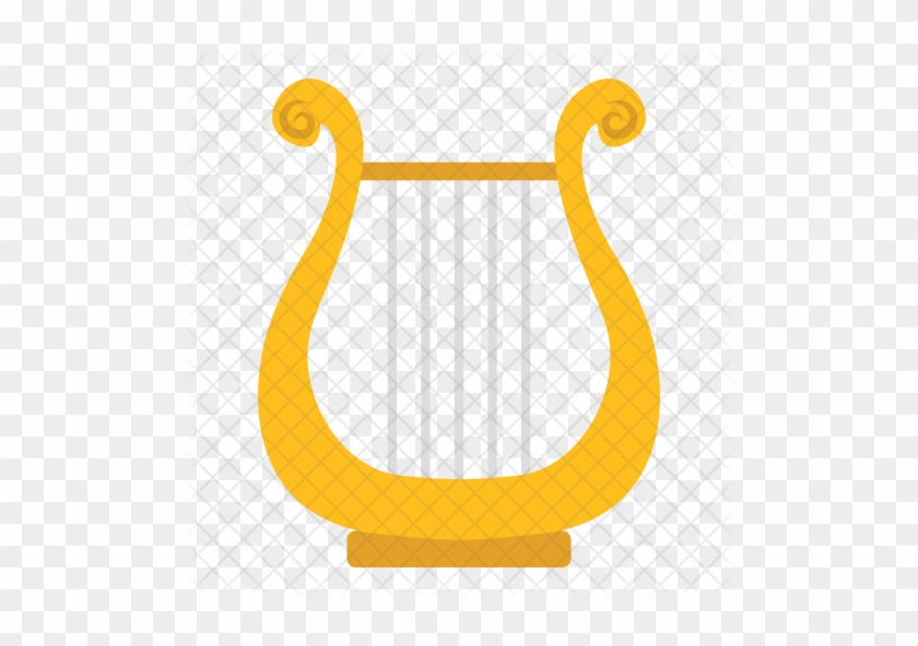 Ancient Lyre Icon - Ancient Greek Harp #786425