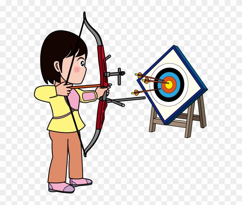 アーチェリー・弓道14-アーチェリーイラスト - Modern Competitive Archery #786504