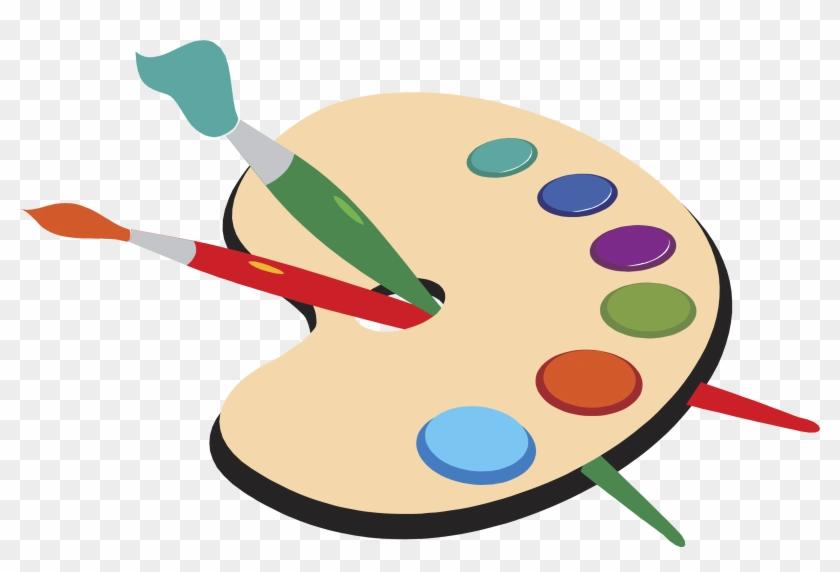 Palette Artist Painting Brush - Painting Artist #787426