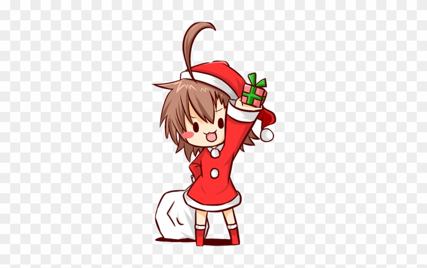 Last Order\'s Christmas - Merry Christmas Anime Chibi - Free ...
