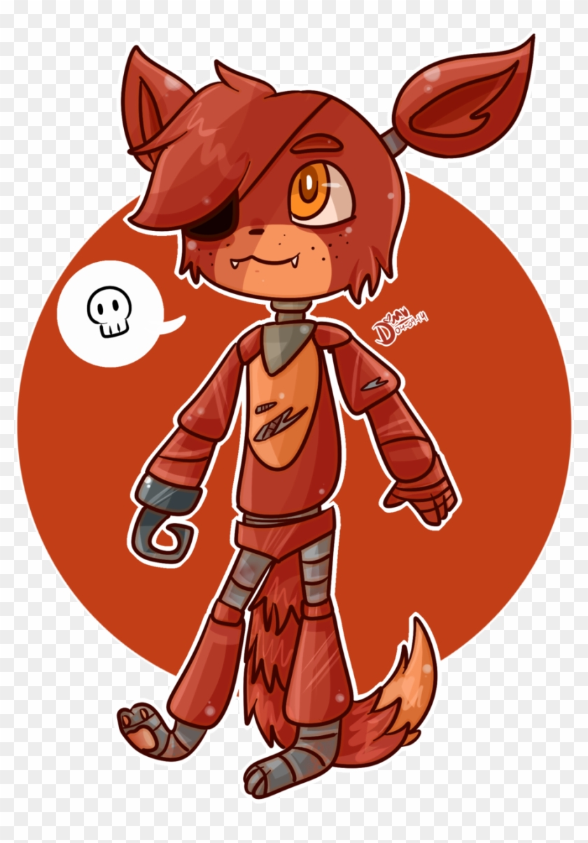 Chibi Foxy By Damian Fluffy Doge - Cute Pictures Of Foxy The Pirate Fox #787969
