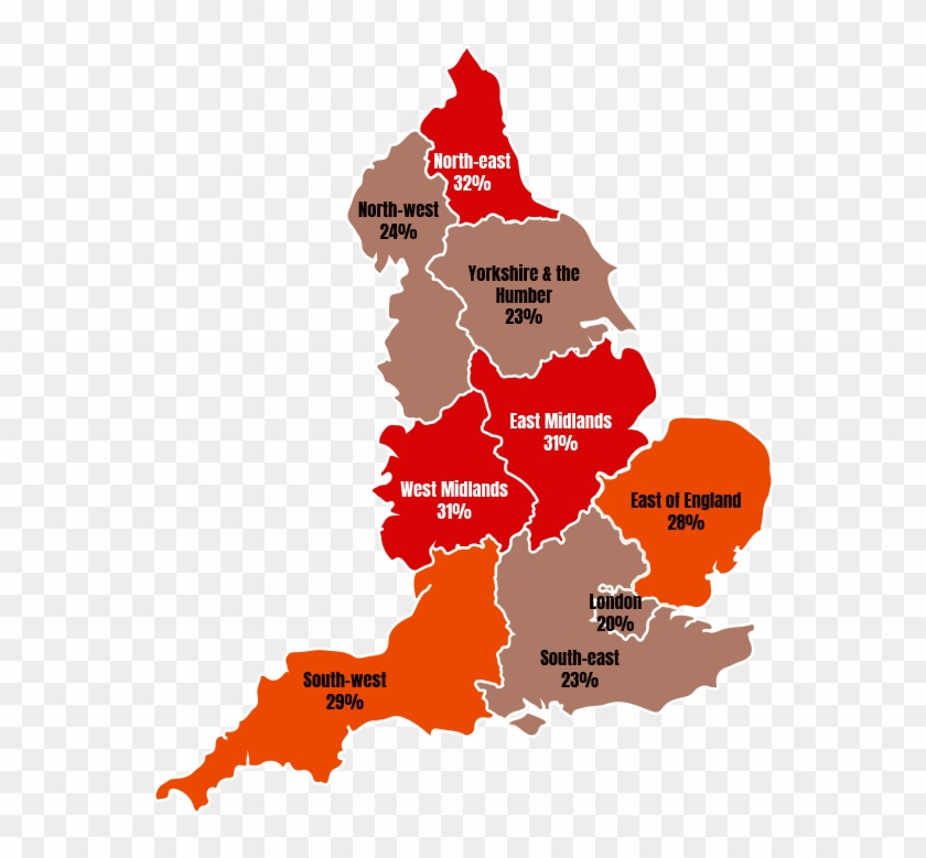 Obese Adults Uk Map Free Transparent Png Clipart Images Download