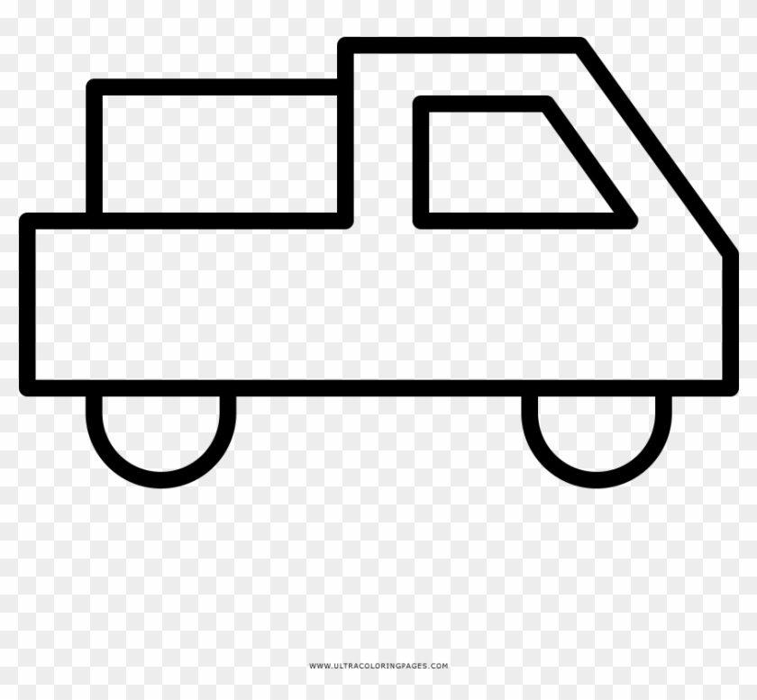 Delivery Truck Coloring Page - Coloring Book - Free ...
