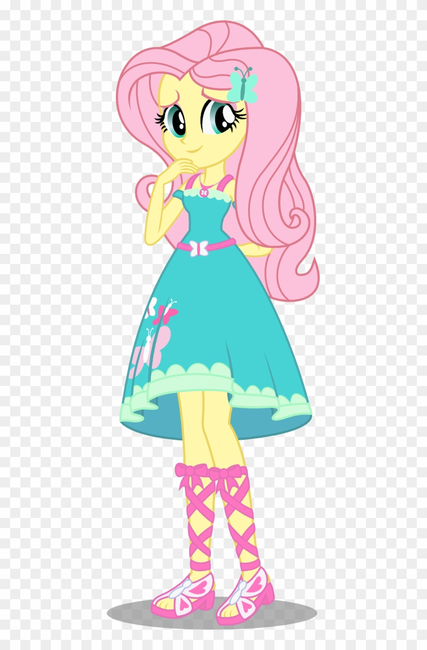Niban Destikim 346 42 Fluttershy My Little Pony Equestria Girls Fluttershy Free Transparent Png Clipart Images Download