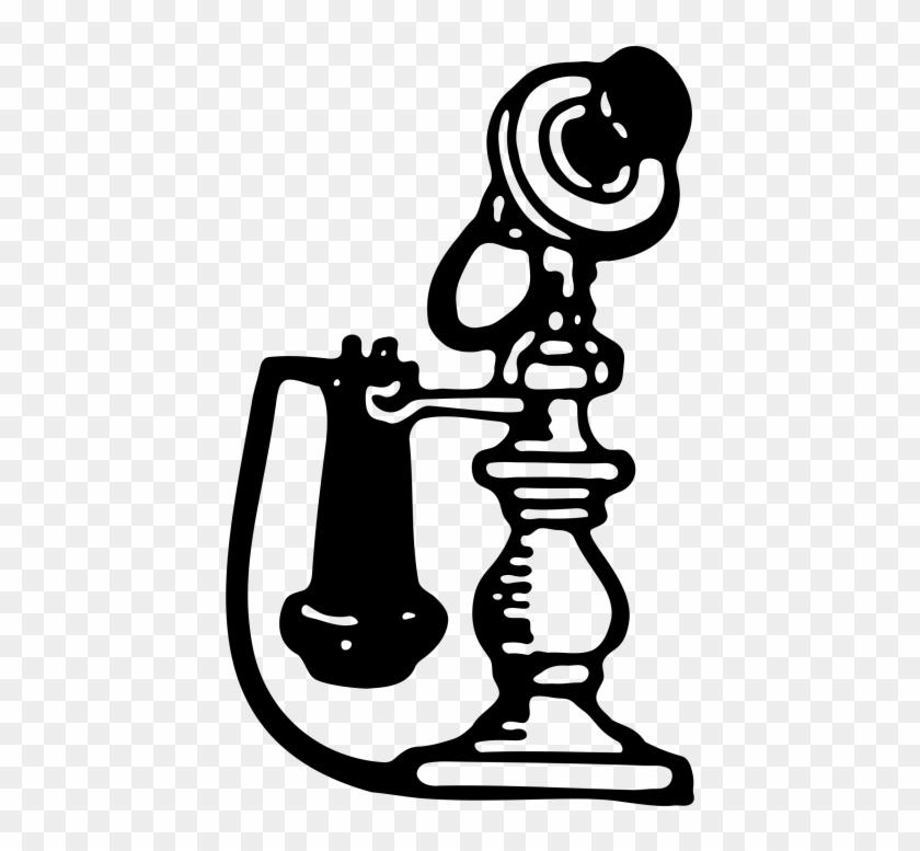 Antique Candlestick Telephone 1911 - Antique Candlestick Telephone 1911 #789195