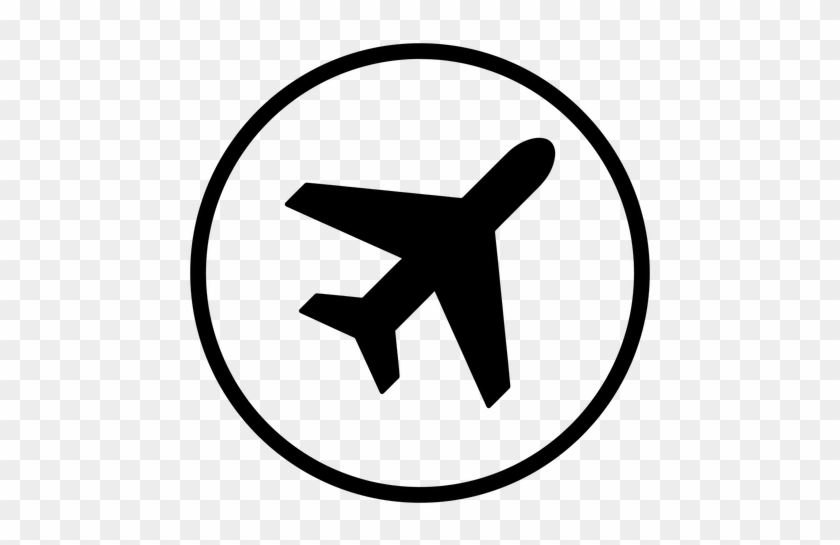 Plane Airport Round Icon Transparent Png Amp Svg Vector