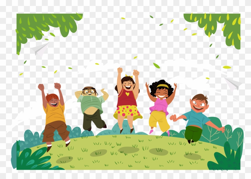 Vector Illustration Of Happy Children's Day Royalty Free Cliparts, Vectors,  And Stock Illustration. Image 88308032.