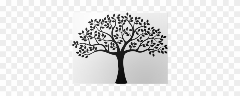 Black And White Family Tree Clipart #790334