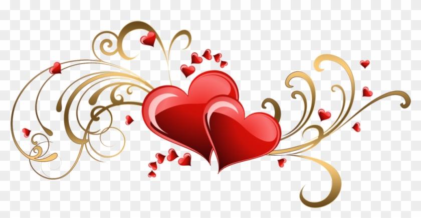 Heart Flourish Corner Set - Dil Shayari In Hindi - Free