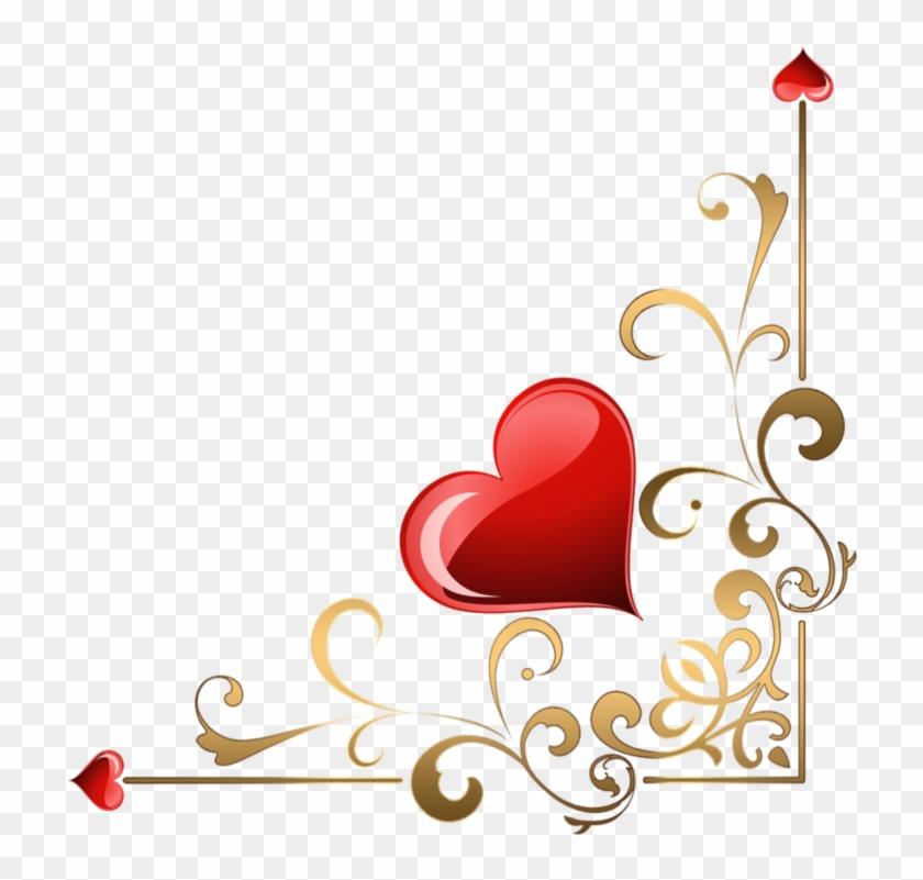 Hearts Corners Lz 001 By Lyotta Heart Corner Border Designs Free Transparent Png Clipart Images Download,Graphic Design Jobs Sacramento