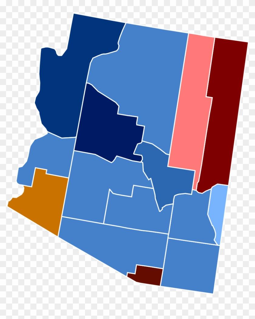 Arizona Racial And Ethnic Map - Arizona 2016 Election Results #792176