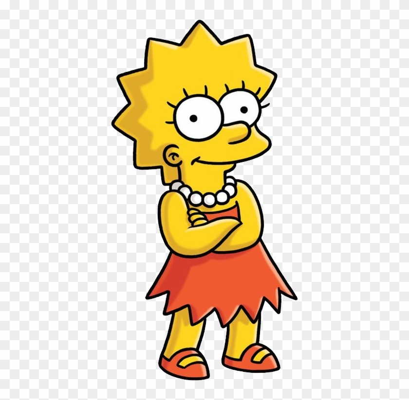 Lisa Simpson Png - Simpsons Lisa #792192