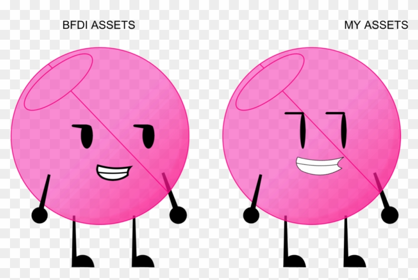 Asset Test By Ttnofficial - Bfdi Assets Mouth - Free Transparent PNG