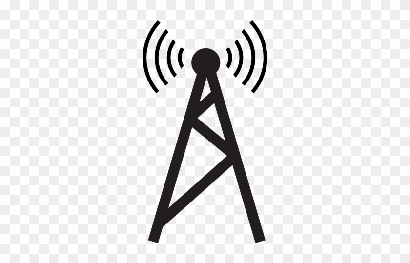 Cell Site Computer Icons Mobile Phones Telecommunications - Radio Tower Icon Png #793319