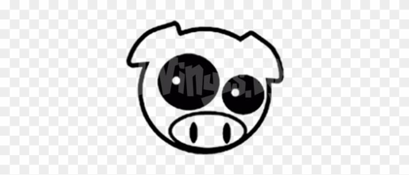 Jdm Happy Pig Boy Vinyl Sticker - Subaru Pig Sticker #793434