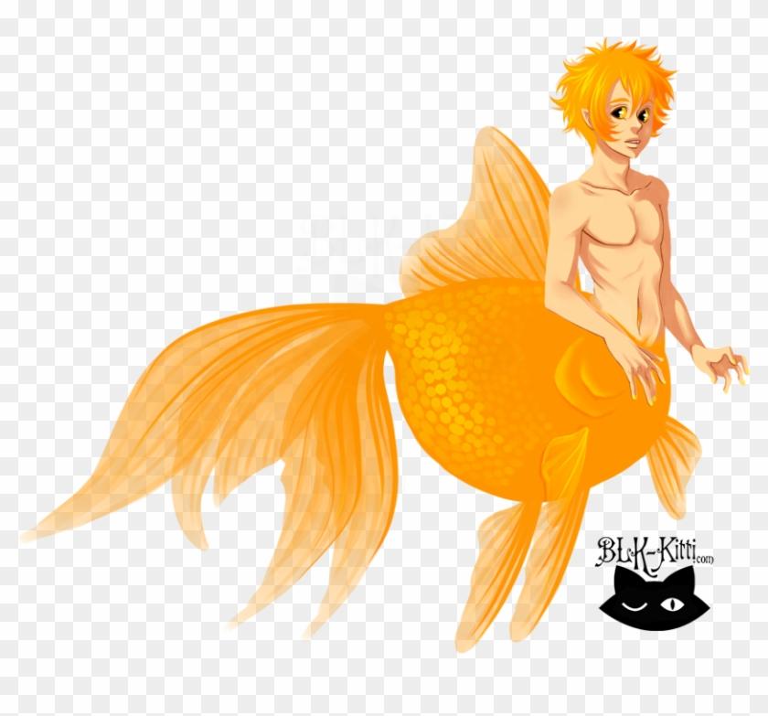 Goldfish Mermaid By Blk - Goldfish Mermaid #793700