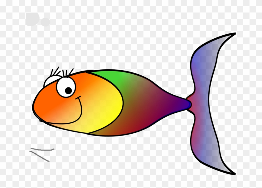 Fish Fry Clipart Rainbow Fish Clip Art Vector Gdhksr - Transparent Rainbow Fish Cartoon #793753