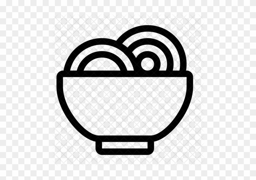 Food Noodle Bowl Meal Soup Eat Icon Food Free Transparent Png Clipart Images Download