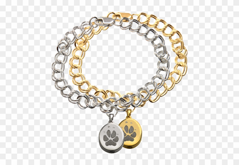 Wholesale Mini Oval Charm Bracelet With Actual Paw - Petite Oval Charm With Handwriting Bracelet #794822