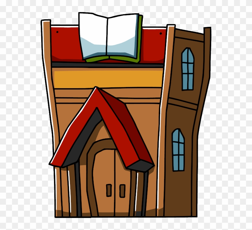 Office Building Clip Art Download - Library Building Clipart Png #794832